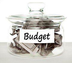 Budget jar stock
