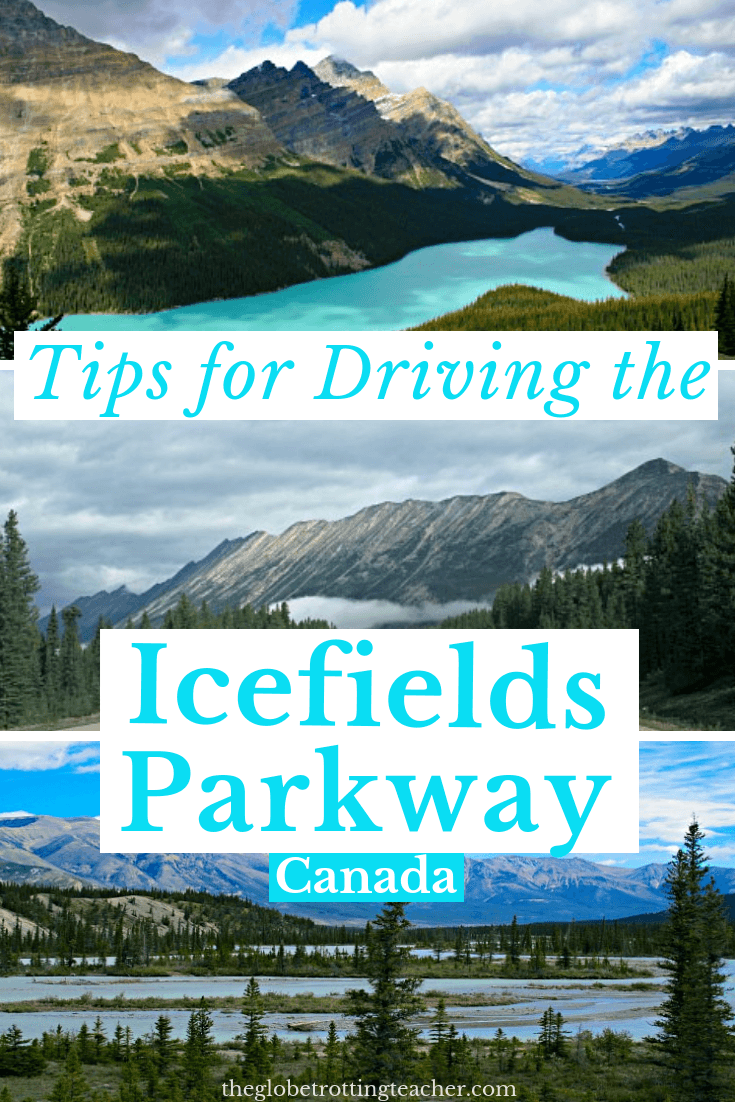 Why You Should Drive the Icefields Parkway + All the Trip Planning Tips you need!- Banff and Jasper National Parks in Alberta, Canada are full of adventure and jaw-dropping natural beauty. The Icefields Parkway road trip through the Canadian Rockies is one of the top 25 drives in North America. Cross it off your bucket list! #travel #canada #icefieldsparkway #roadtrip #canadianrockies