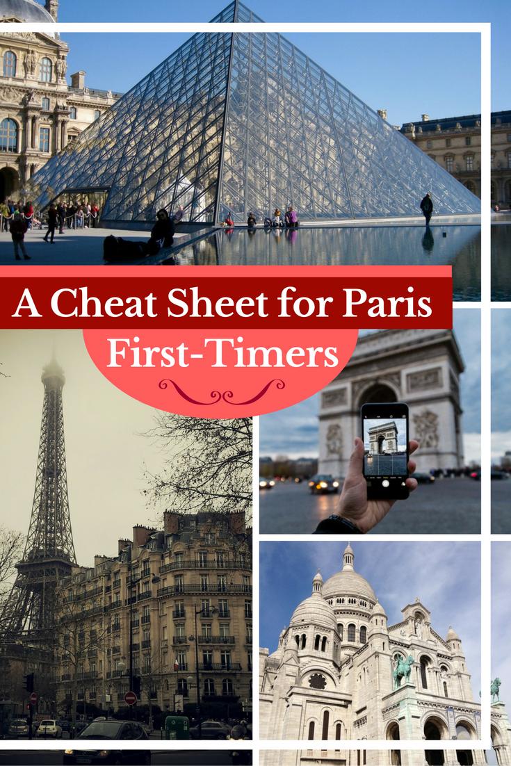 Travel Paris | If you're planning a trip to Paris, this cheat sheet has all your travel Paris basics + a Free downloadable cheat sheet to take on the go. #Paris #France #travel #Europe #bucketlist #europetravels #europeantravel #parisjetaime