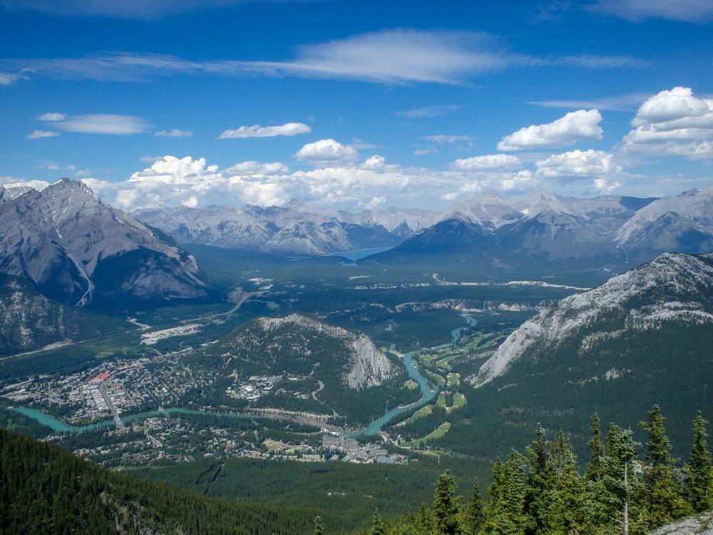 Banff Town View