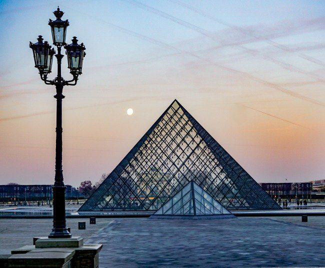 Paris Sunrise over the Louvre