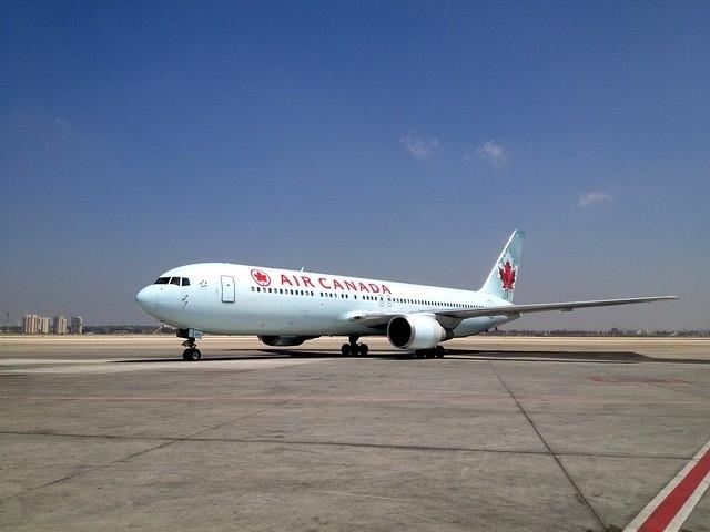 AIr Canada Airplane Stock