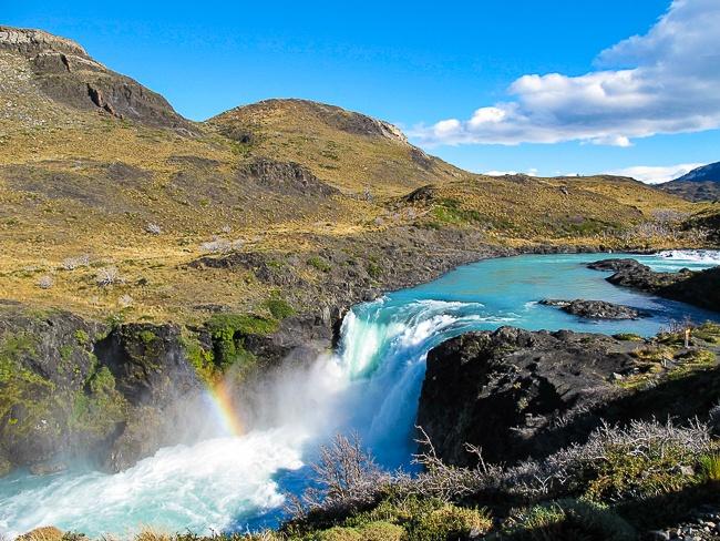 Patagonia Torres del Paine rainbow