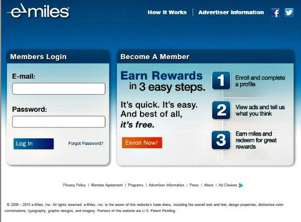 earning miles and points for completing surveys