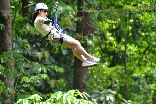 Costa Rica Zip Line Manuel Antonio