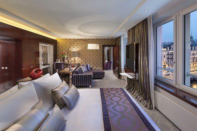 Stock Hotel Room