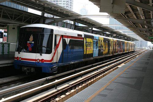 bangkok skytrain photo