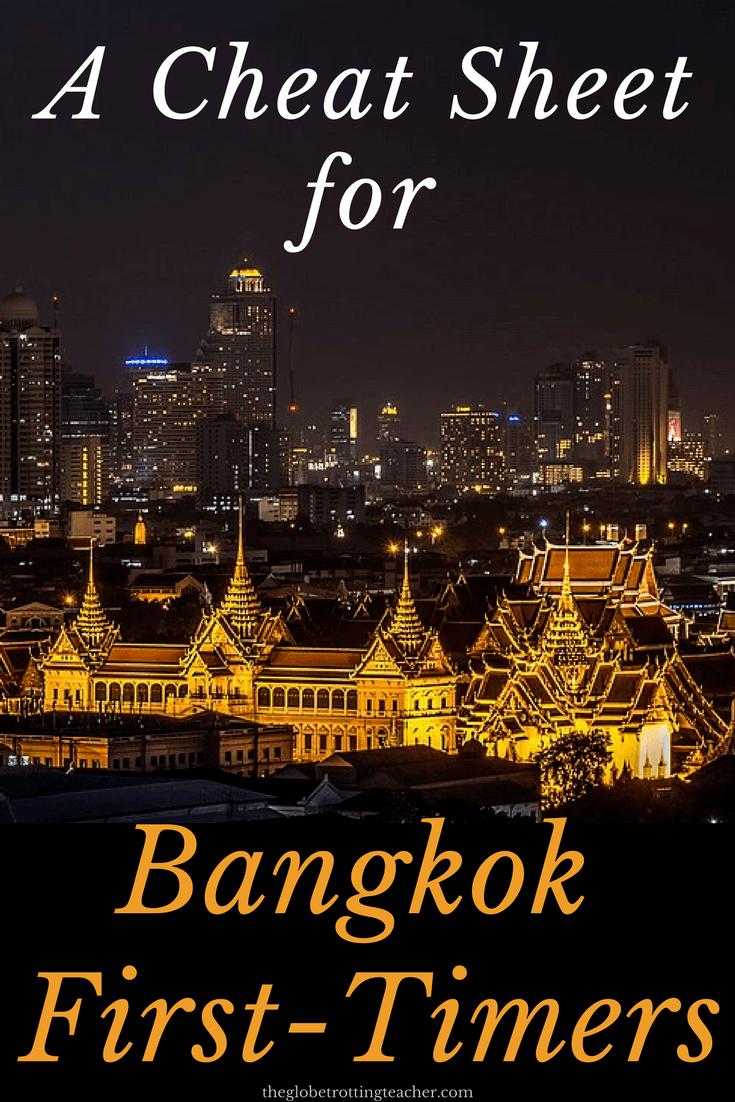 A Cheat Sheet For Bangkok First Timers- Planning a trip to Thailand? Bangkok is a can't miss on a trip to Thailand and Southeast Asia. This guide has the tips and advice you need to plan your Bangkok itinerary and manage this amazing city! #travel #Thailand #Asia #SEAsia #Bangkok #bucketlist #bucketlisttravel #bangkokguide #bangkoktrip #bangkokitinerary