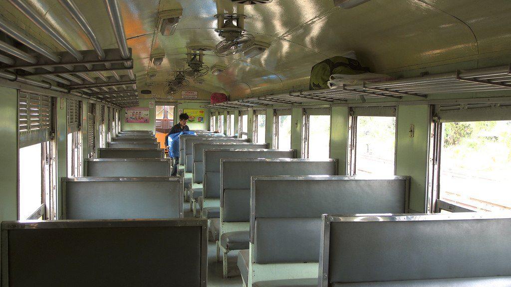 inside thai train photo