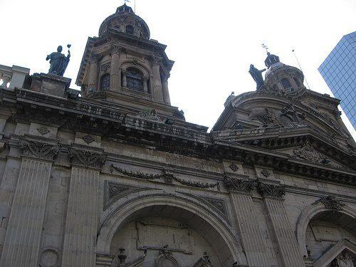 plaza de armas santiago chile photo