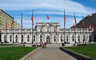 La Moneda Presidential Palace Santiago Chile