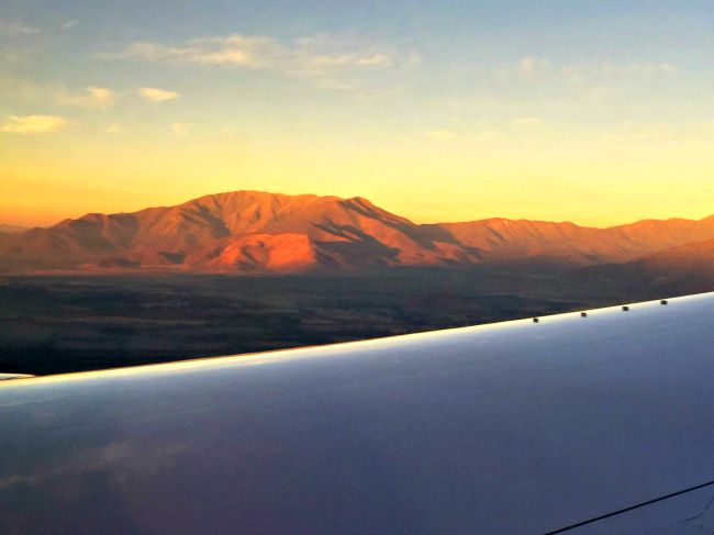Andes Mountains Sunrise