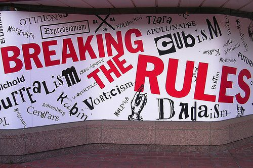 breaking the rules photo