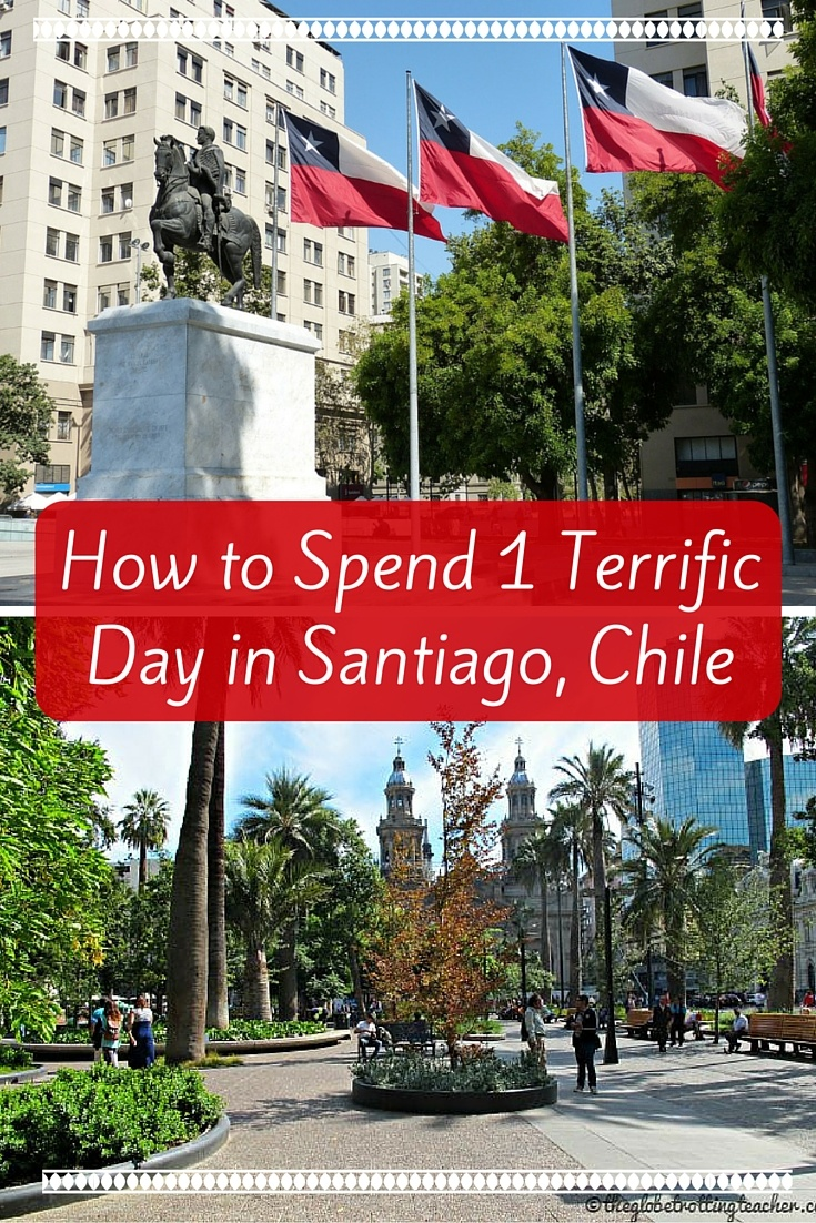 How to Spend 1 Terrific Day in Santiago, Chile- Planning a trip to Chile? Santiago is a cosmopolitan city with plenty to do, see, and taste! Use this guide to plan your Santiago itinerary with the best things to do, where to stay, and tips for getting around the city. #travel #chile #santiago #southamerica