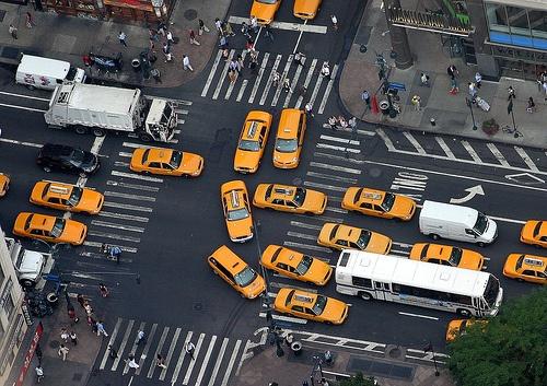 new york traffic photo