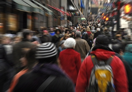 walking new york photo