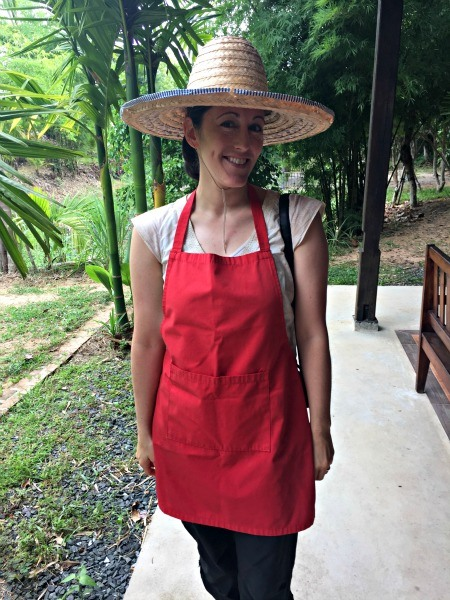 Thai Cooking Self Photo