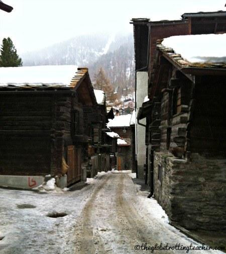 Zermatt Switzerland Timber Houses