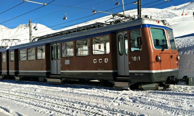 Gornergrat Railway Zermatt Switzerland