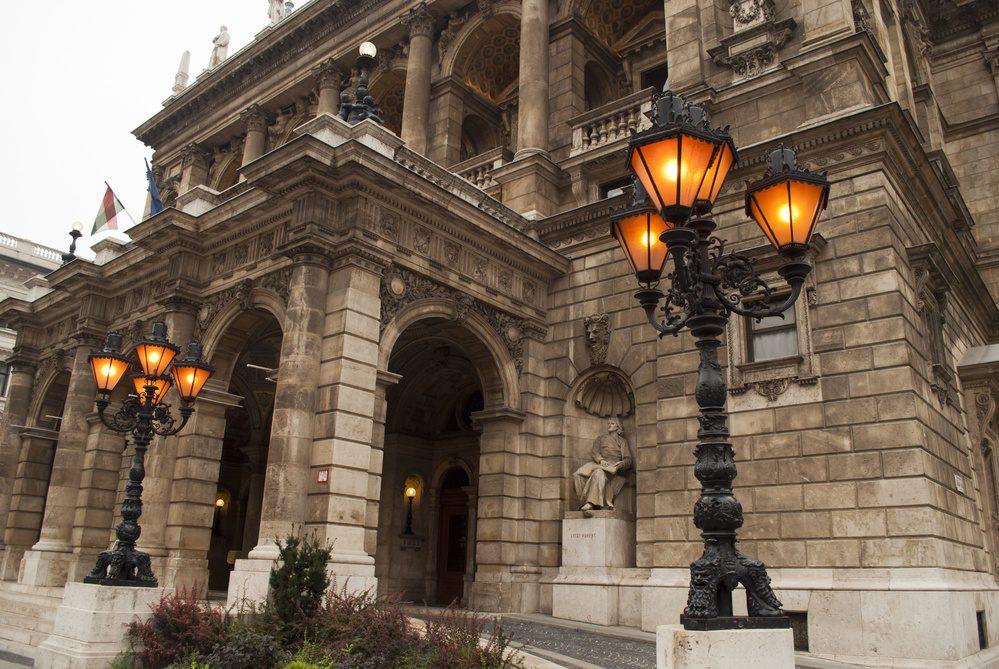 Budapest Hungary Opera House Andrassy Avenue