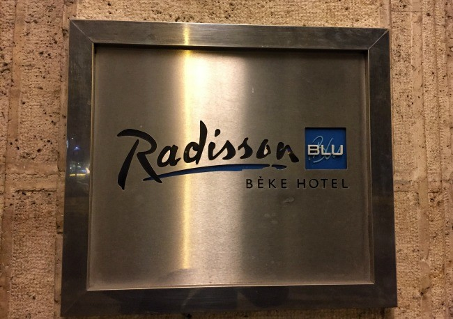 Budapest Radisson Blu