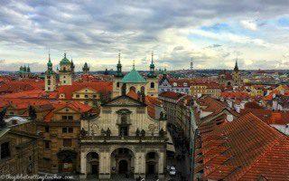 Prague Spire View