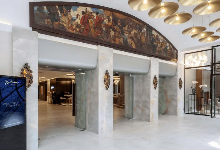 Radisson Blu Beke Budapest Lobby