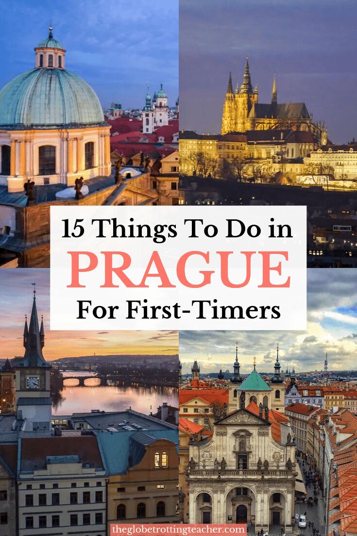 15 Things to Do in Prague Pinterest Pin