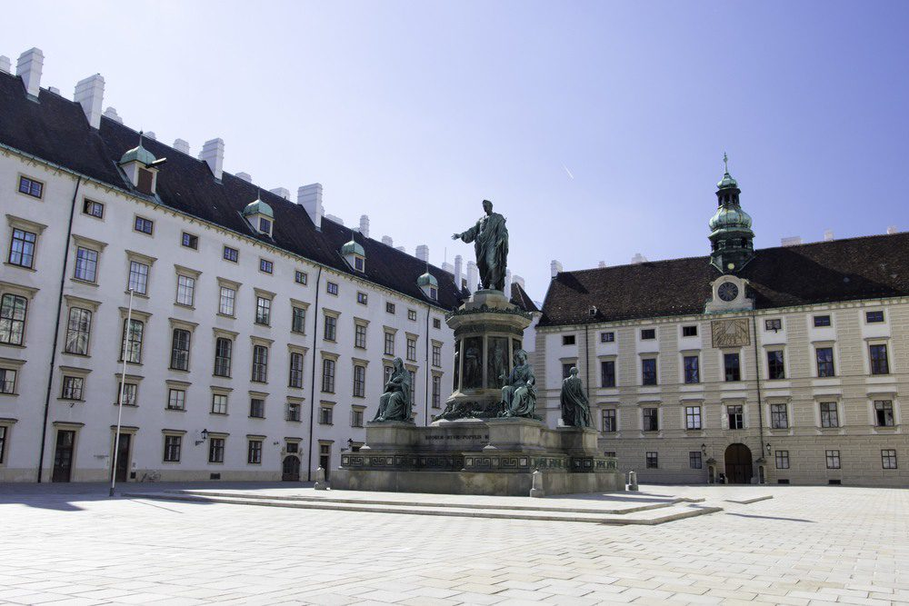 Buildings in Vienna capital, Austria