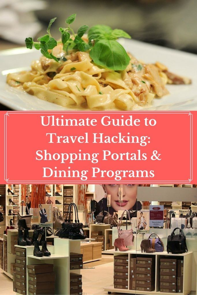 Ultimate Guide to Travel Hacking- Shopping Portals & Dining Programs