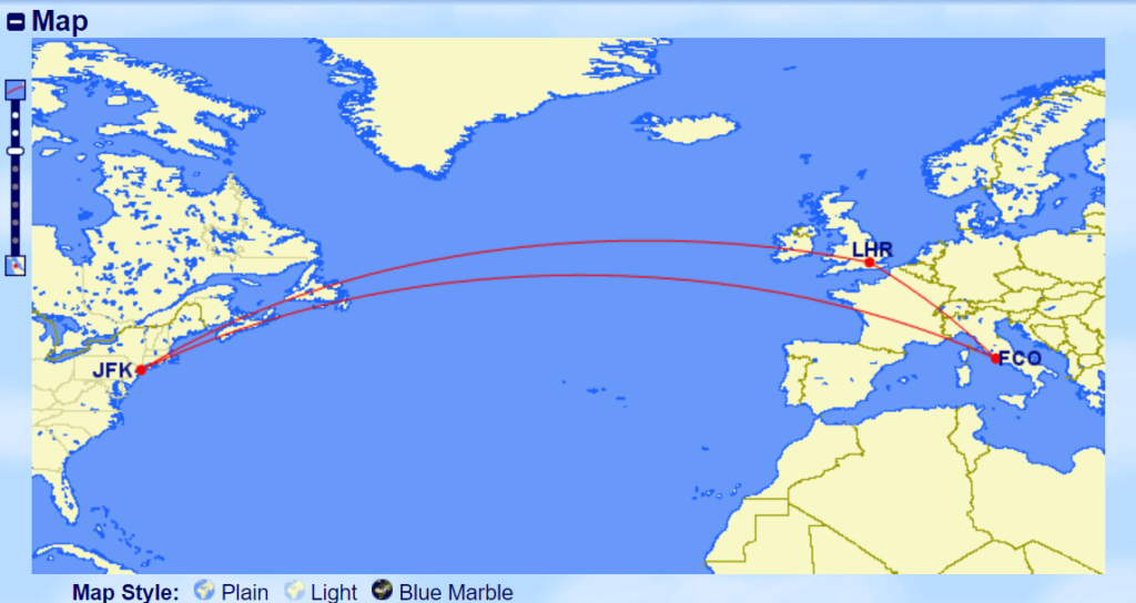 Stopover Example Map