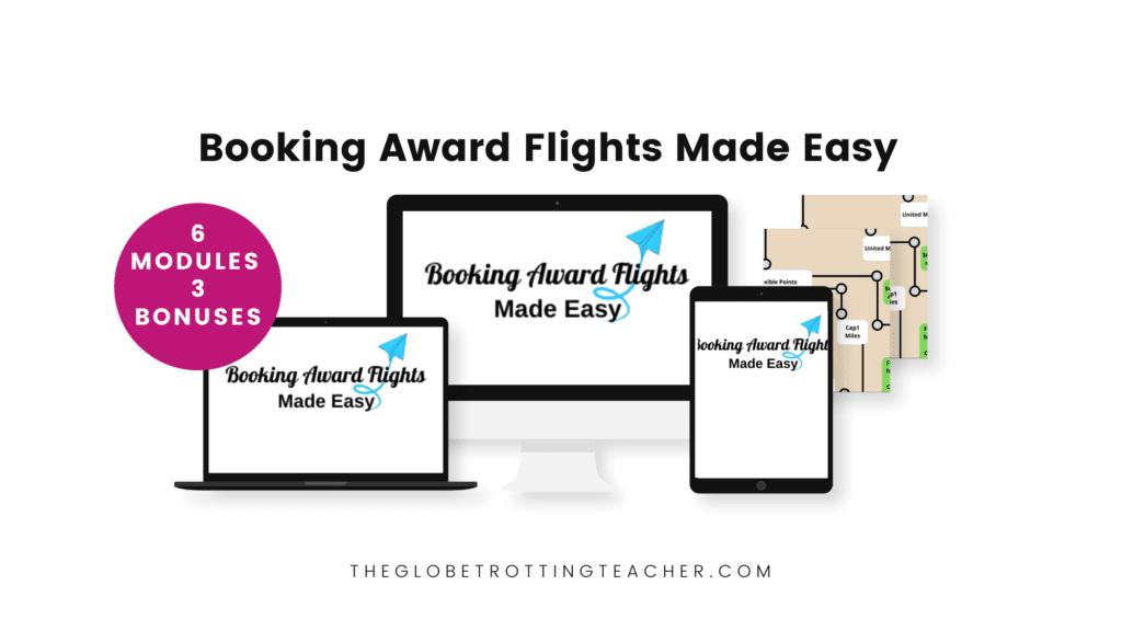 Booking Award Flights Mock Up