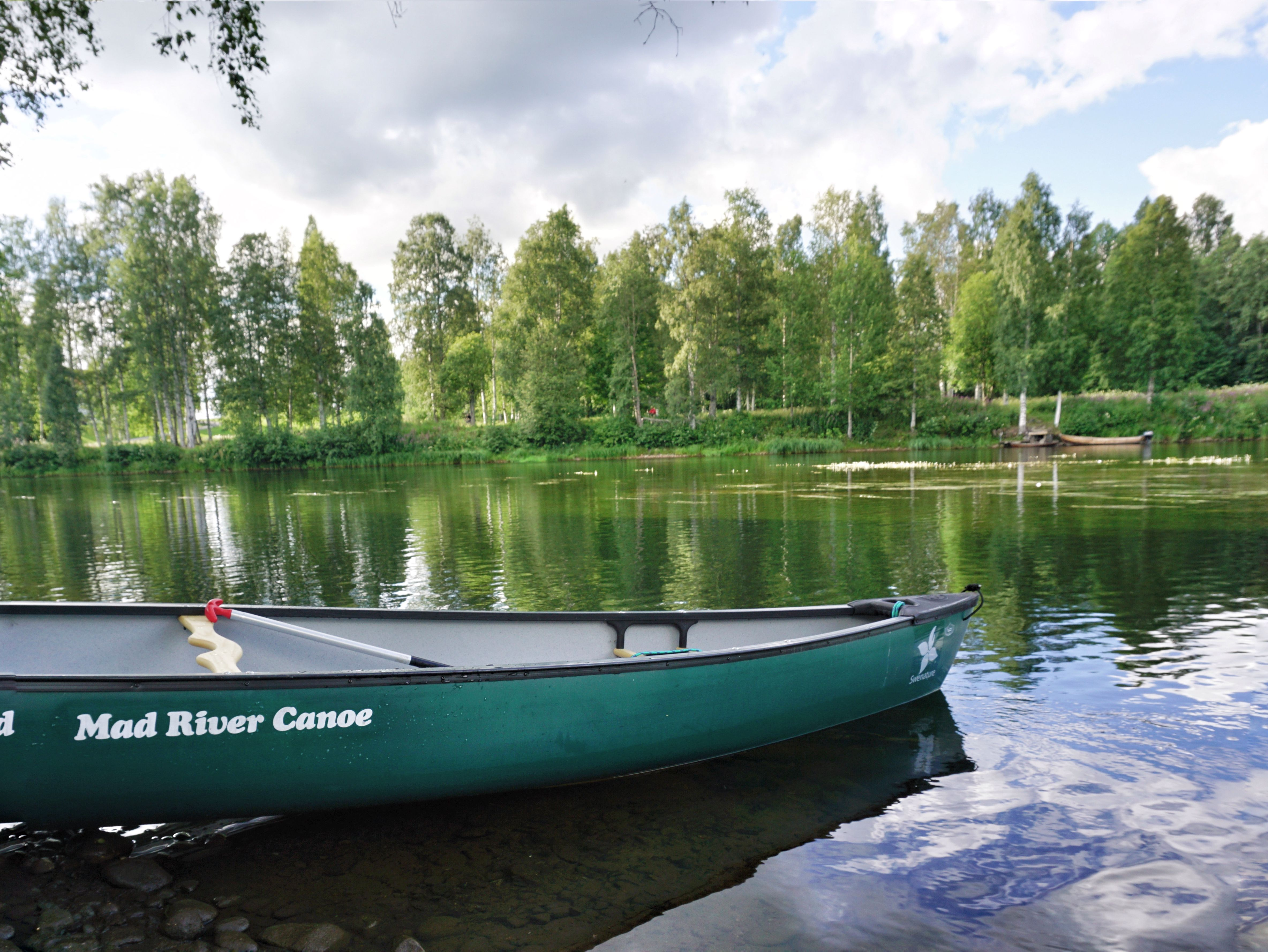 Skelleftea Swedish Lapland Canoe