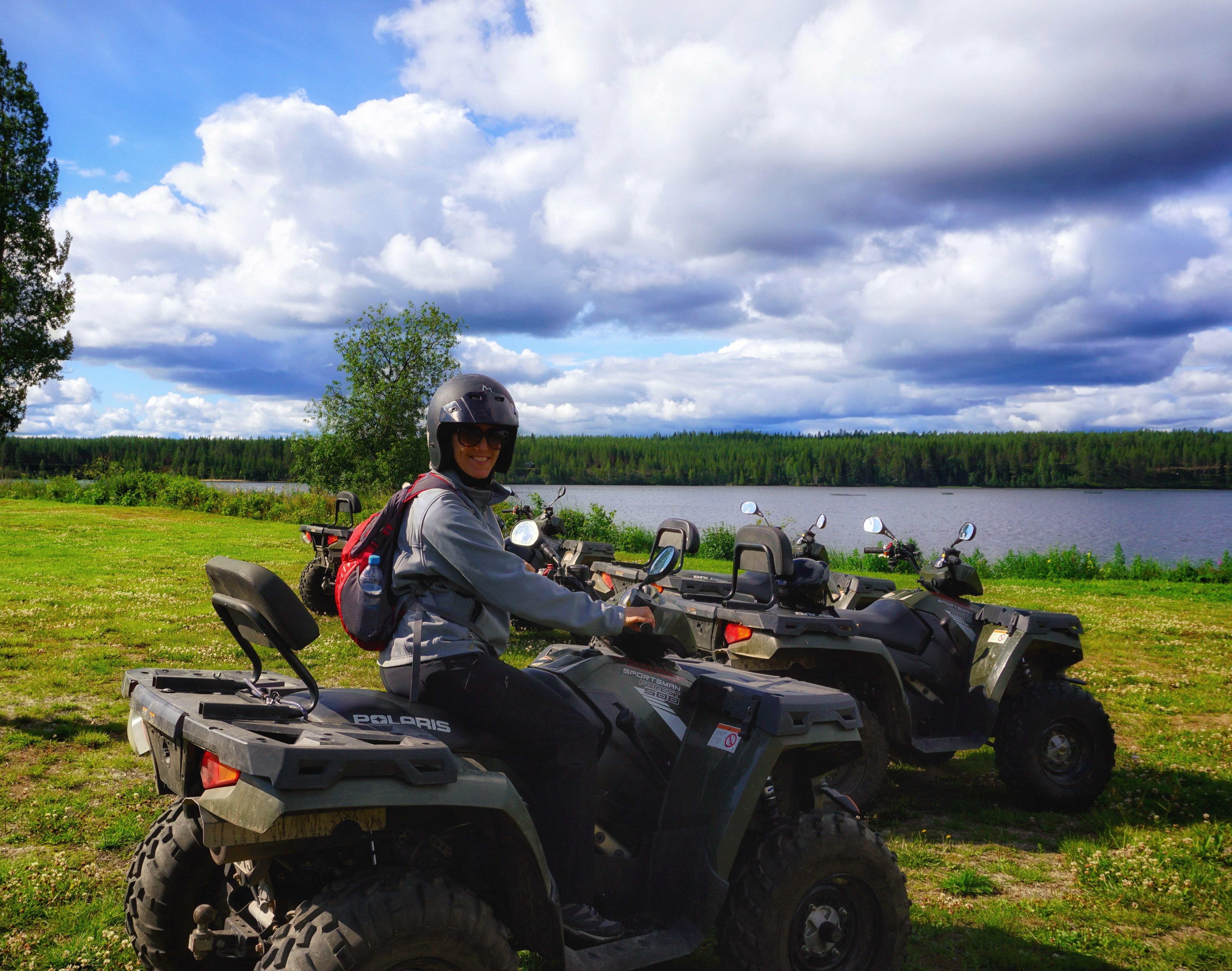 Skelleftea Swedish Lapland ATV