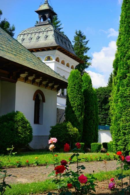 Sinaia Monastery Grounds Romania