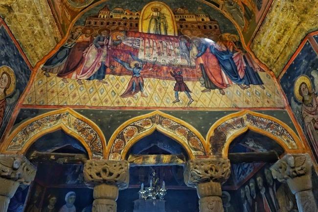 Sinaia Monastery Mural Romania