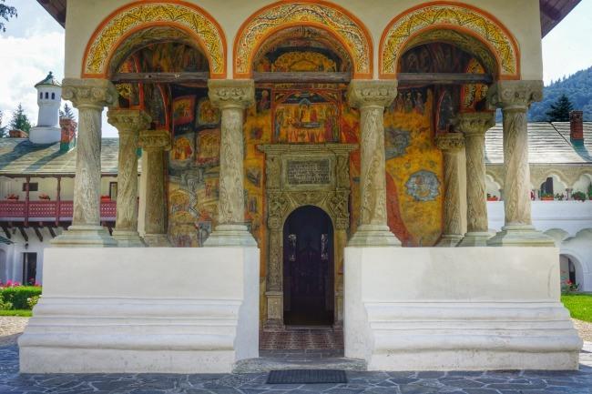 Sinaia Monastery Old Church Romania