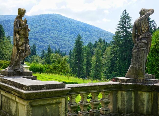 Sinaia Peles Castle Carpathians