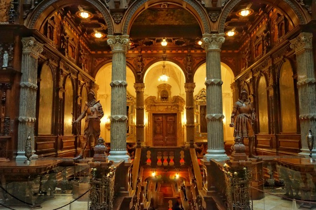 Sinaia Peles Castle Foyer
