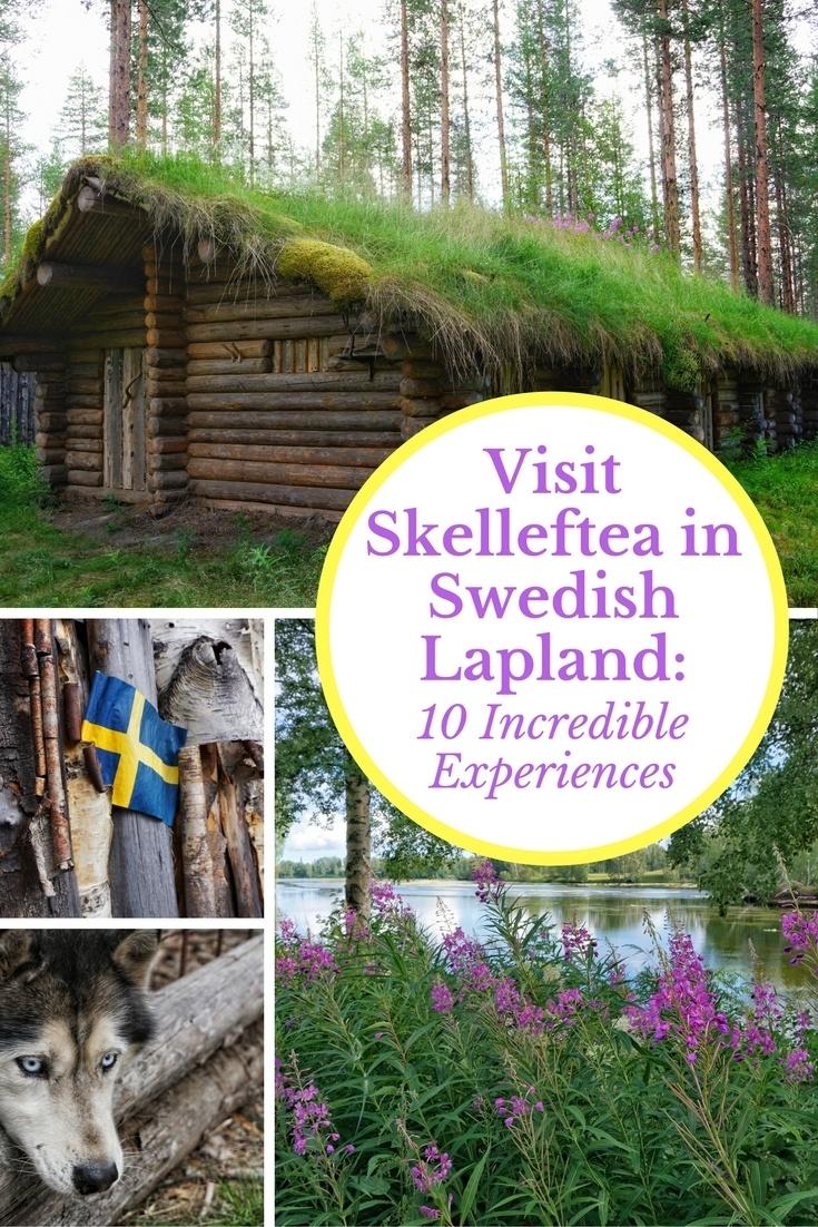 Visit Skelleftea in Swedish Lapland