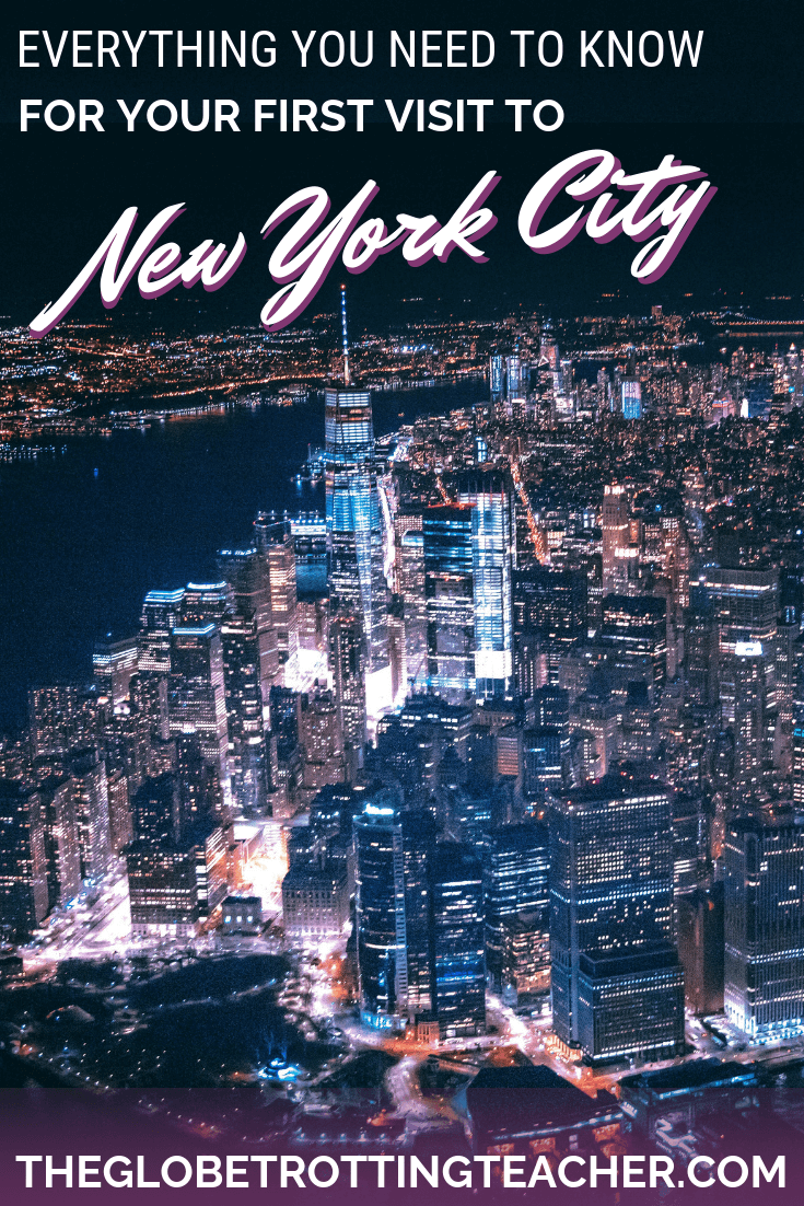 Planning New York City Travel? This is a complete NYC guide with itinerary tips, things to do, where to stay, & more + A FREE NYC Cheat Sheet to take with you on your trip! #NYC #Travel #NewYorkCity