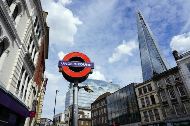 London Tube Sign
