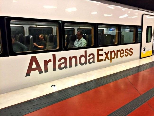 Stockholm Sweden Arlanda Express