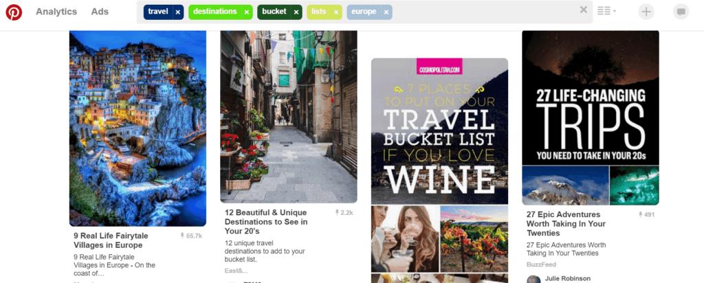 pinterest how to choose a travel destination