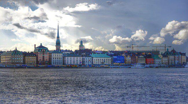 Stockholm Sweden Waterfront