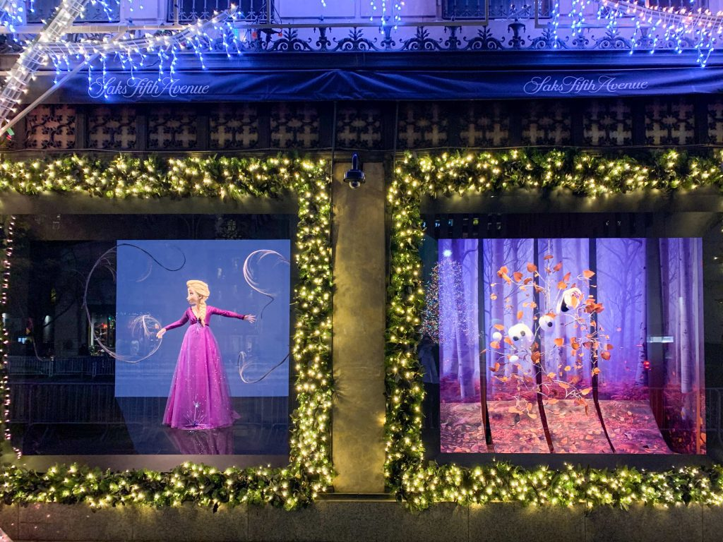 Christmas in NYC Department Store Windows