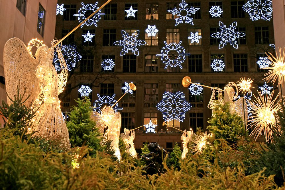 Rockefeller Center Christmas in New York City
