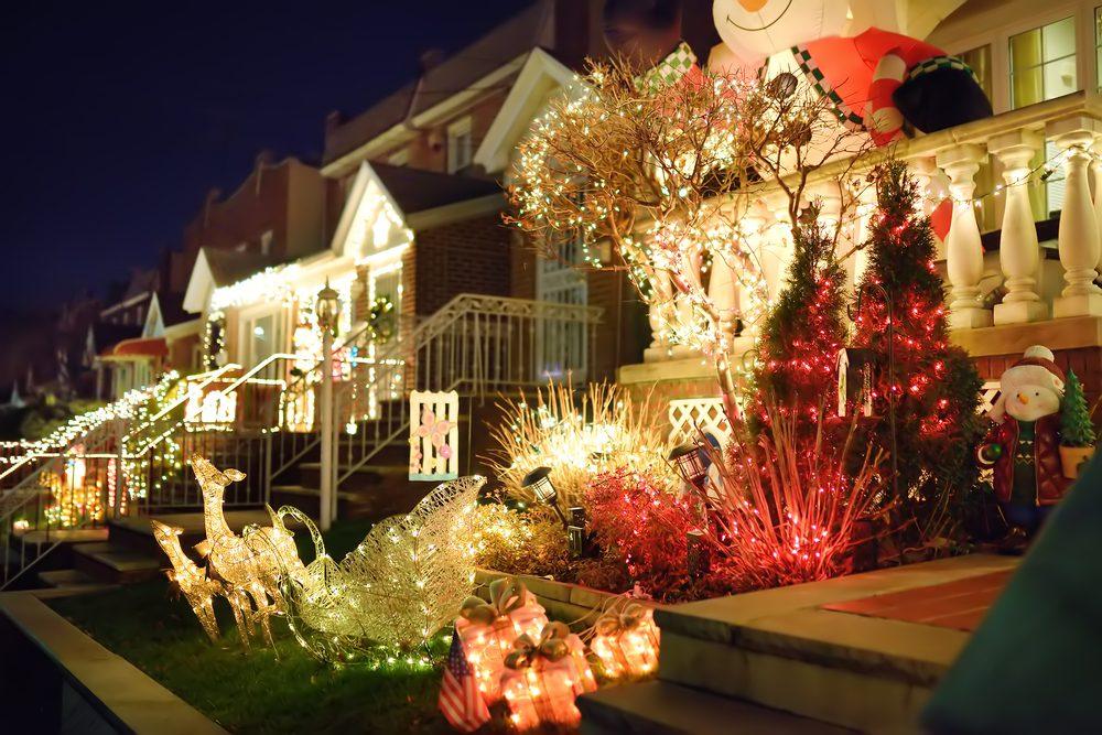 Christmas in NYC Dyker Heights Brooklyn Holiday Lights