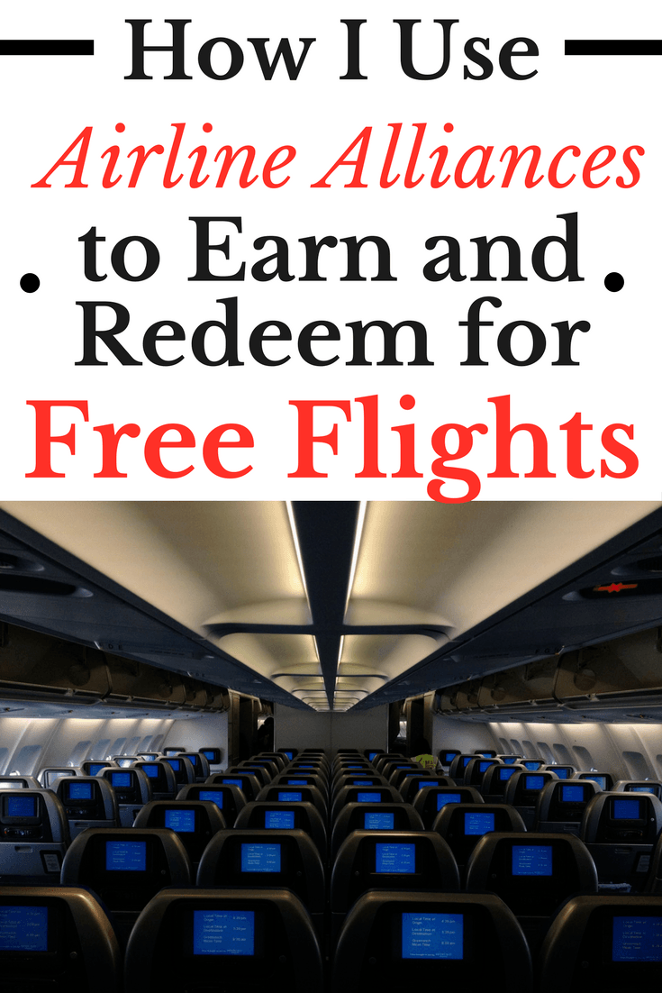 earn and redeem airline miles with airline alliances and partners