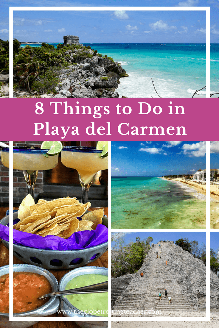 8 Things to Do in Playa del Carmen Mexico...(Or Not)- Why or not? Playa del Carmen is all about what you want to do. Beach, sun, fun, adventure, or not! It's all about a carefree vacation. So go on and plan your Playa del Carmen trip! #travel #mexico #playadelcarmen #tulum #cozumel #Yucatanpeninsula #rivieramaya #beach #vacation